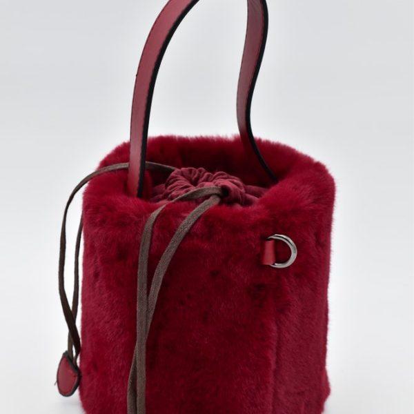 γυναικείο τσαντάκι κόκκινο 3