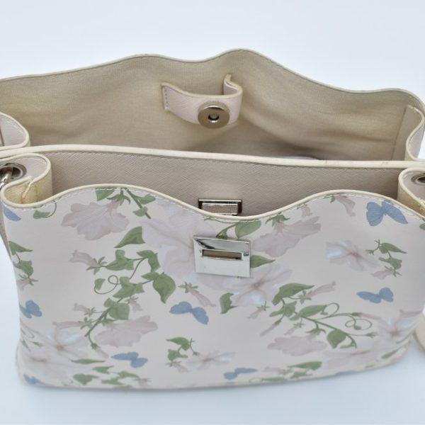 γυναικεία τσάντα floral