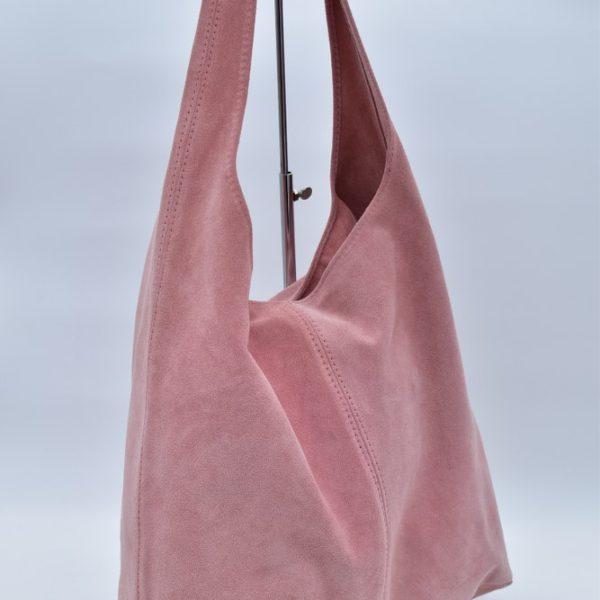 γυναικεία τσάντα ώμου boho ροζ