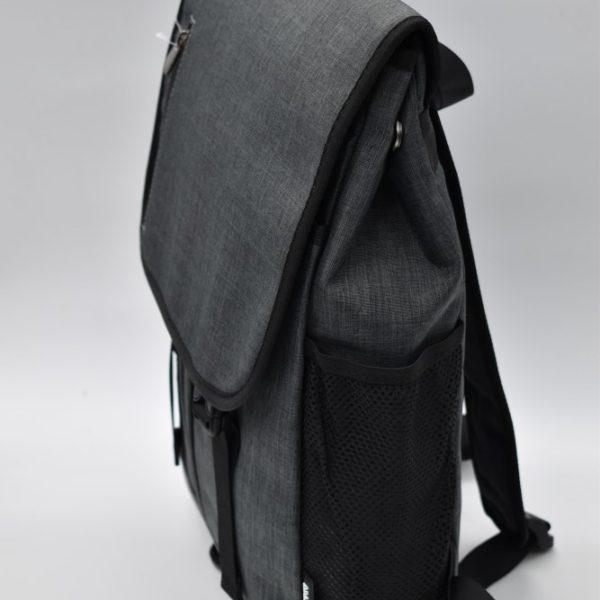 αντρική τσάντα πλάτης γκρι