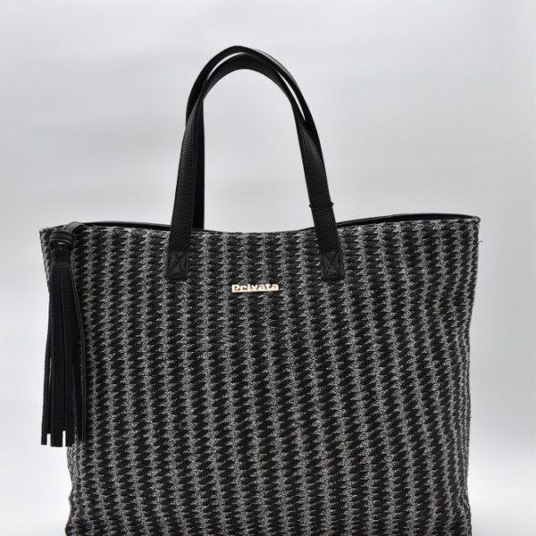 γυναικεία τσάντα χειρός πλεκτή