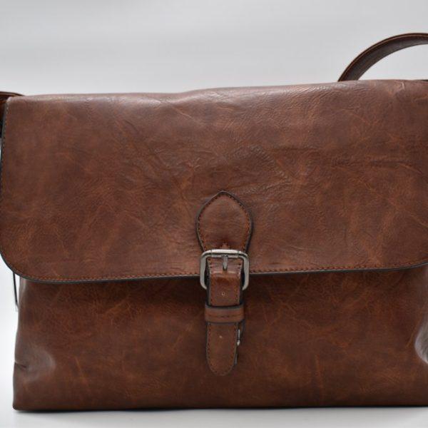 τσάντα επαγγελματική καφέ 2
