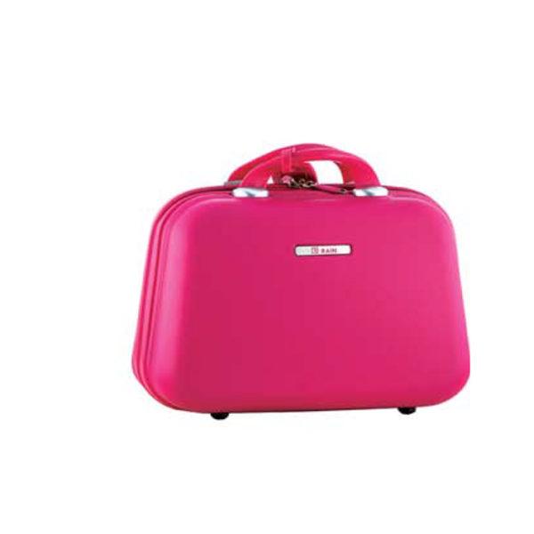 Νεσεσέρ - Cosmetic Bag Ταξιδιού Σκληρό ABS Rain RB1010 Φούξια